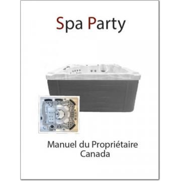 Spa Party Owner's Manual EN